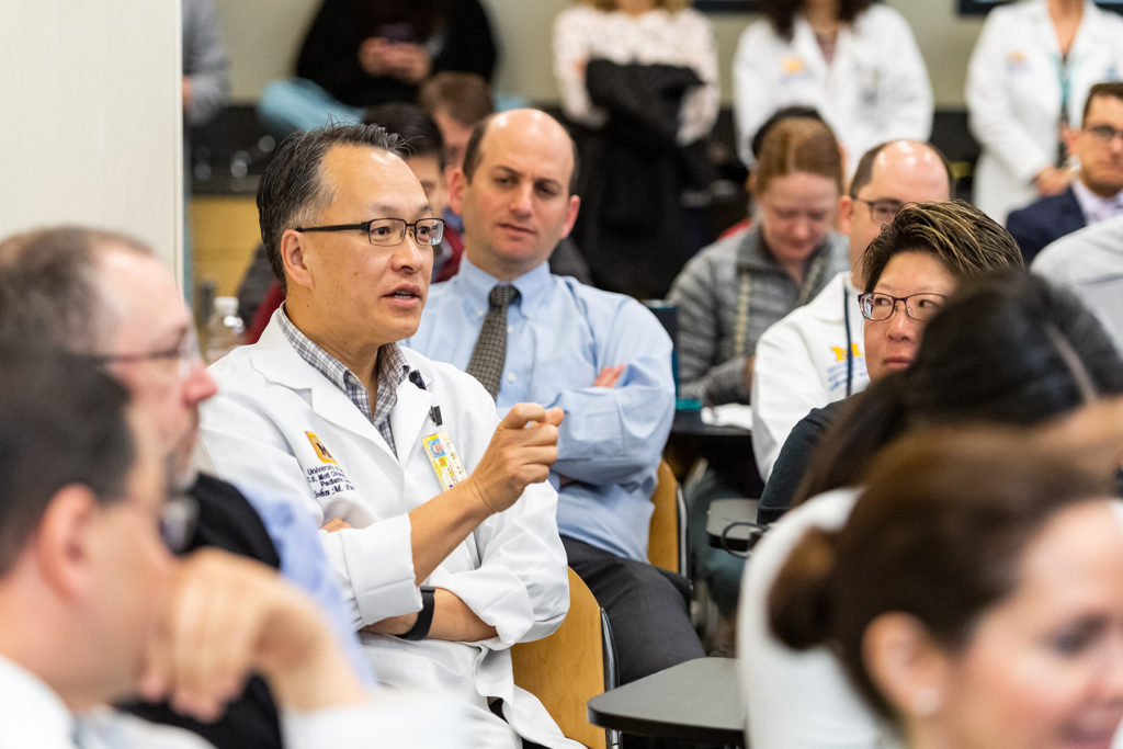 Urology Grand Rounds Conference: Faculty Dr. John Park speaking